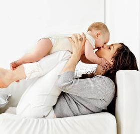 Красивая мама - счастливый малыш